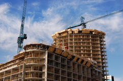 Codominium Construction Royalty Free Stock Images