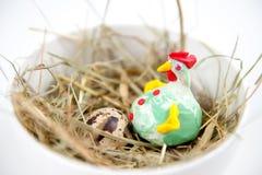 Codornices egg Foto de archivo