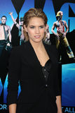 Cody Horn arrives at the  Stock Image