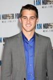"""Cody Johns ankommer på """"mig är premiären för nummer fyra"""" Royaltyfri Fotografi"""