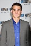 """Cody Johns ankommer på """"mig är premiären för nummer fyra"""" Royaltyfri Foto"""