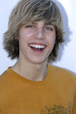 Cody Linley on the red carpet. Cody Linley appearing on the red carpet in West Hollywood in March 2007 Stock Image