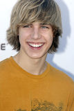 Cody Linley on the red carpet. Cody Linley appearing on the red carpet in West Hollywood in March 2007 royalty free stock photos