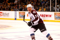 Cody McLeod Colorado Avalanche Royalty Free Stock Photography