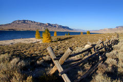Cody reservoir stock images