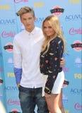 Cody Simpson & Alli Simpson Fotografia Stock Libera da Diritti