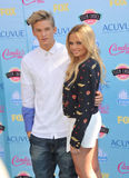 Cody Simpson & Alli Simpson Royalty Free Stock Photography