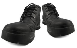 Codzienni Mądrze Przypadkowi Wodoodporni Wycieczkuje buty, Czarny Nubuck Rzemienny Niewygładzony GTX Stylowy Elegancki Wygodny Me zdjęcia royalty free