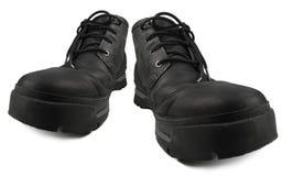 Codzienni Mądrze Przypadkowi Wodoodporni Wycieczkuje buty, Czarny Nubuck Rzemienny Niewygładzony GTX Stylowy Elegancki Wygodny Me obraz stock