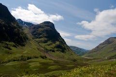 coe roztoka Scotland Fotografia Stock