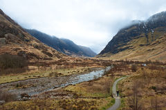coe roztoka Scotland Zdjęcia Royalty Free