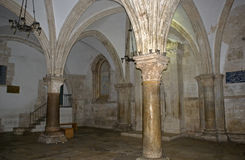 Coeanculum, ubicación de la última cena, Jerusalén, Israel Imagen de archivo