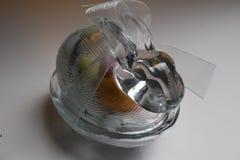 Coelhinho da Páscoa de vidro Imagens de Stock Royalty Free