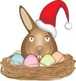 Coelhinho da Páscoa 2 do Natal Imagens de Stock