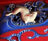 Coelho branco Imagens de Stock