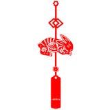 Coelho chinês do ano novo Fotografia de Stock