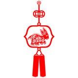 Coelho chinês do ano novo Imagem de Stock