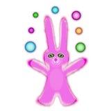Coelho cor-de-rosa Imagem de Stock