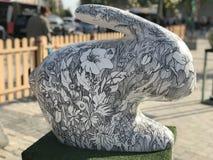 Coelho da flor Fotografia de Stock
