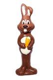 Coelho da Páscoa do chocolate foto de stock