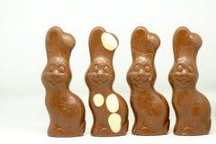 Coelho de Easter do chocolate fotografia de stock royalty free