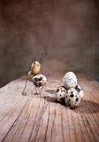 Coelho de Easter simples das coisas Foto de Stock Royalty Free