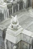 Coelho de pedra do castelo Foto de Stock