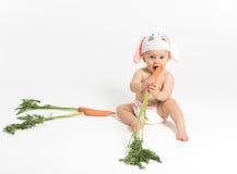 Coelho do bebê da Páscoa Foto de Stock Royalty Free
