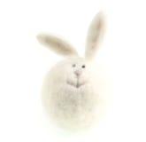 Coelho do branco de Easter Imagens de Stock Royalty Free