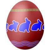 Coelho do ovo da páscoa imagem de stock