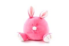 Coelho enchido cor-de-rosa Imagem de Stock