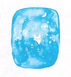 Coelho pequeno bonito ilustração do vetor