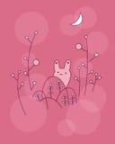Coelho pequeno bonito ilustração stock