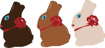 Coelhos de Easter ilustração do vetor