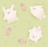 Coelhos de Easter fotografia de stock