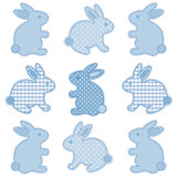 Coelhos de Easter do bebê Fotografia de Stock
