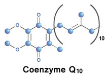 coenzyme q10 Royaltyfri Fotografi