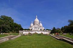 coeru Παρίσι sacre Στοκ φωτογραφία με δικαίωμα ελεύθερης χρήσης