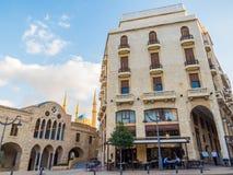Coesistenza delle religioni nel Libano fotografia stock libera da diritti