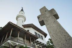 Coesistenza pacifica delle due religioni Immagini Stock Libere da Diritti