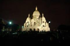 coeur巴黎sacre 库存图片