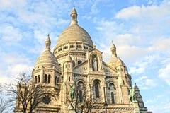 coeur巴黎sacre 库存照片
