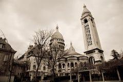 coeur巴黎sacre 图库摄影