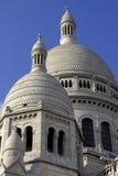 coeur法国montmartre巴黎sacre 免版税图库摄影