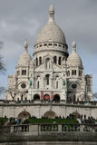coeur法国montmartre巴黎sacre 库存照片