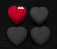 Coeur à vendre Photo stock