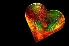 Coeur électrifié Photo stock