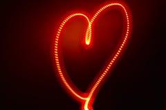 Coeur électrique Photographie stock