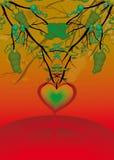 Coeur étrange Photo libre de droits
