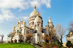 coeur Γαλλία Παρίσι sacre Στοκ Φωτογραφίες